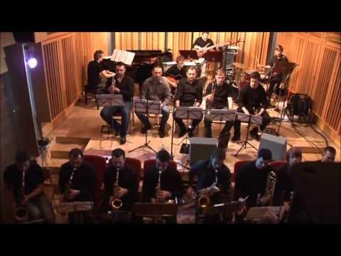 UMCS Big Band speelt het arrangement van Sammy Nestico