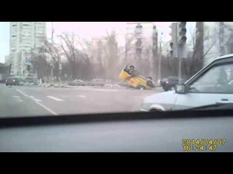 ДТП случилось в Москве 7 04 2014