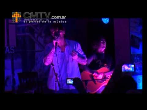 Melendi video Tu jardin con enanitos - Hard Rock Cafe 23 de Abr. 2013