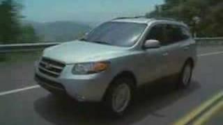 In The Driver's Seat Of The 2008 Hyundai Santa Fe