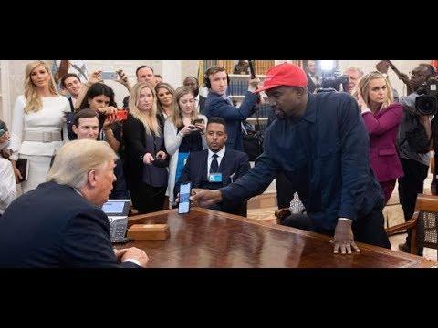 WEST GOES TRUMP: So einfach kannst Du das iPhone von Kanye West entsperren
