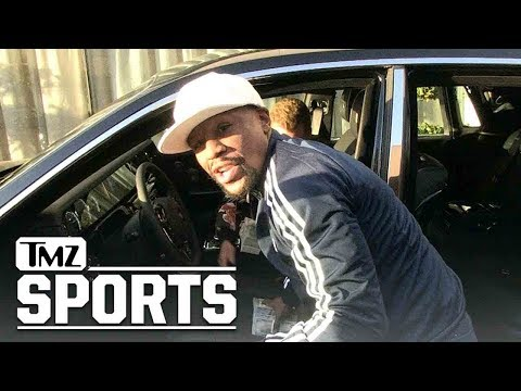 Floyd Mayweather Shows Off his Baller Car Collection | TMZ Sports (видео)