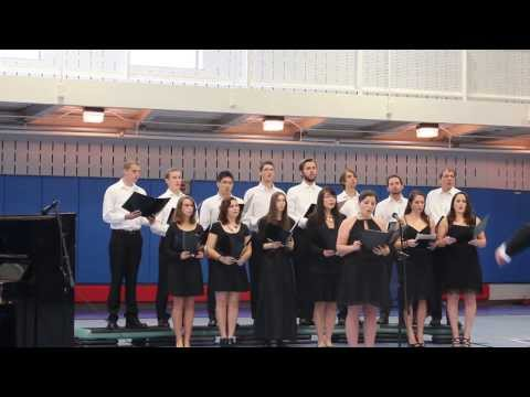 А я по лугу гуляла. Комарик. UMBC Russian Choir