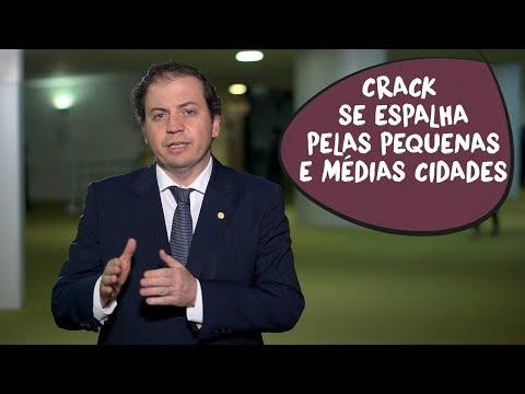 Problema do consumo de crack deve ser enfrentado com coragem, diz Rodrigo de Castro