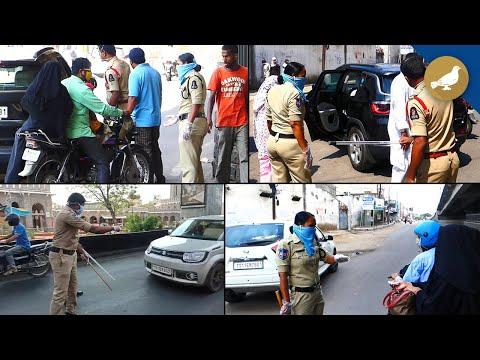 Hyderabad Police taking strict action against Lockdown violators