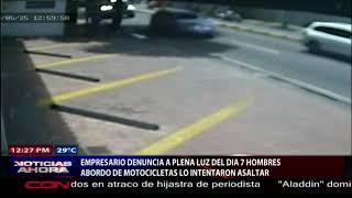 Empresario denuncia a plena luz del día 7 HOMBRES a bordo de motocicleta intentaron asaltarlo