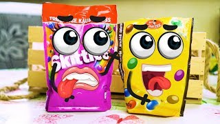 Skittles Candy no quiere bañarse en mayonesa - Cutefood Goodfood #10