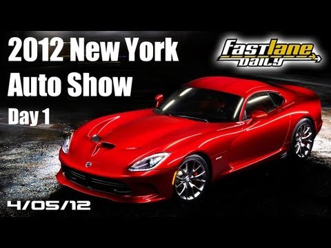2012 New York International Auto Show Day 1