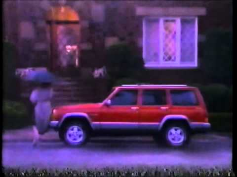 Screenshot of 1991 Jeep Cherokee Commercial