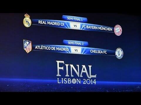 Sorteo de Semifinales de la UEFA Champions League 2013-14