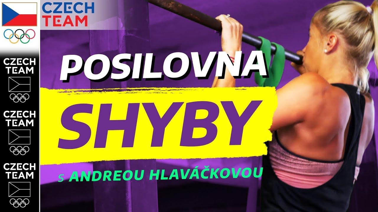 Jak správně na SHYBY?! | Cvičení s Andreou Sestini Hlaváčkovou ep. 3