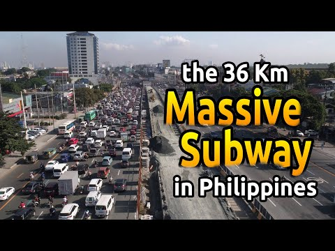 SEFTV: The METRO MANILA SUBWAY SYSTEM // The Philippines Project of the Century