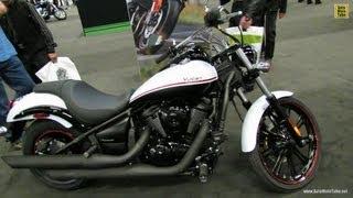 6. 2013 Kawasaki Vulcan 900 Custom Special Edition  Walkaround - 2013 Montreal Motorcycle Show