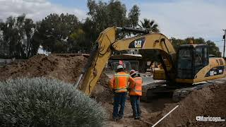 Honeycutt Road construction