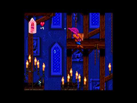 Disney's Beauty and the Beast (SNES) – Part 1: Stages 1 & 2 (No Damage)
