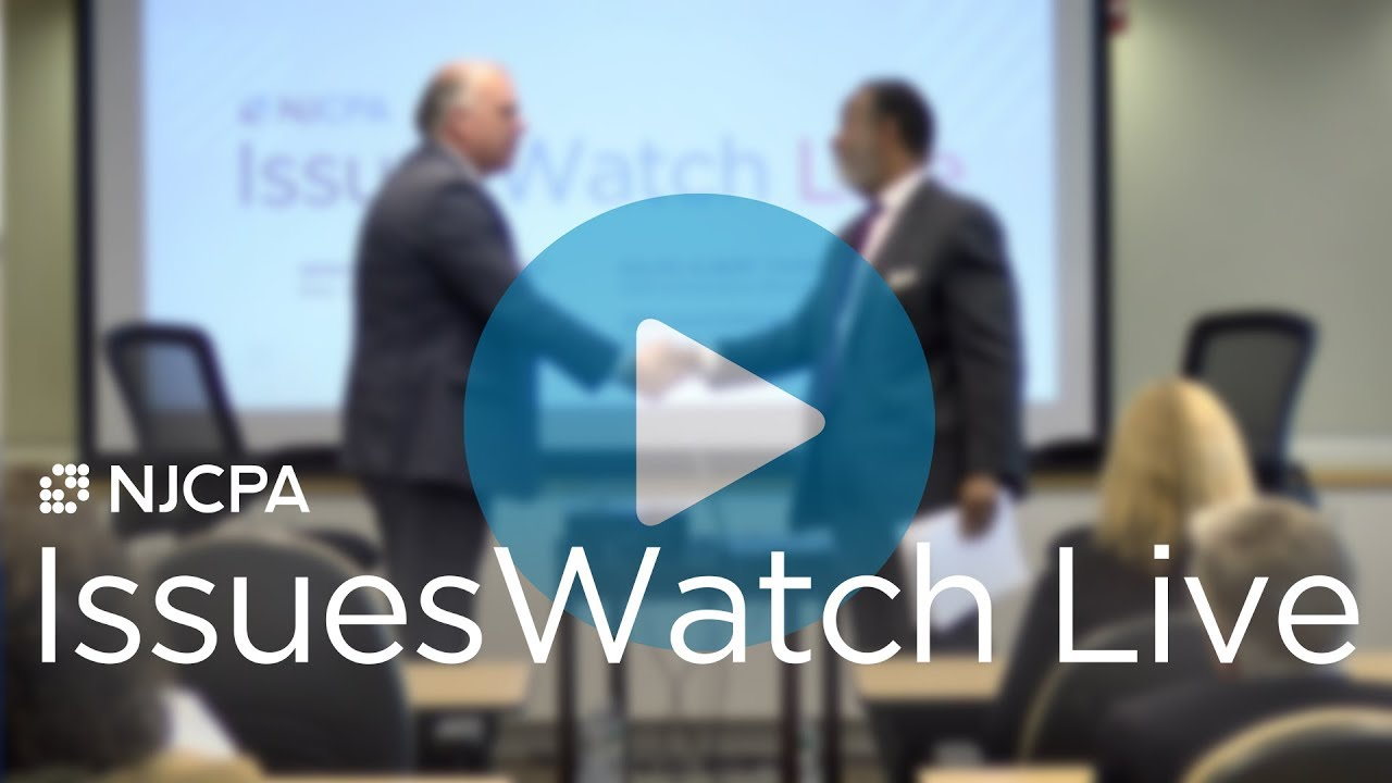 A Conversation with Senate President Sweeney | IssuesWatch LIVE | November 8, 2018