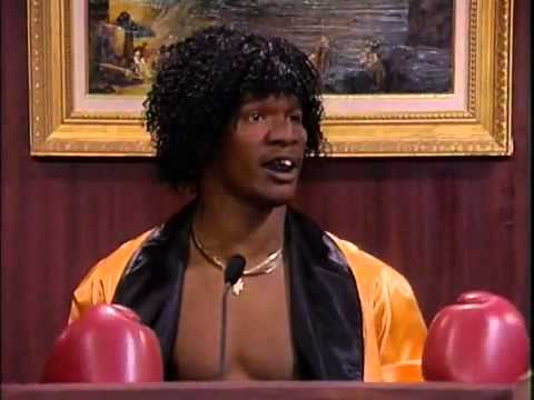 Carl the Tooth Williams (Jamie Foxx) Judge Evette Siegel *** In Living Color