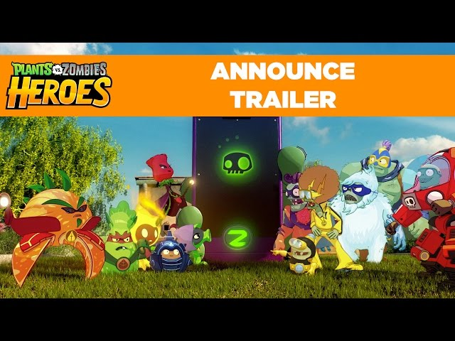 Plants vs. Zombies Heroes | Announce Trailer