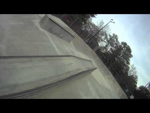 GoPro Skateboarding Perspective, Greenfield Grind