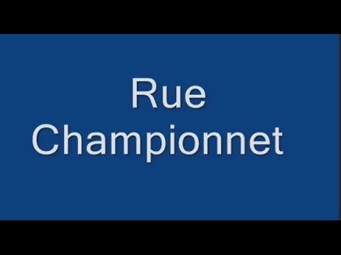 Rue Championnet Paris Arrondissement  18e