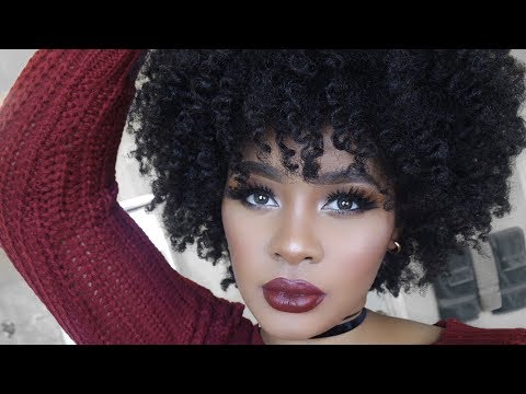 Curly hairstyles - How to Add Volume & Moisture For Big Curly Fro  Natural Hair