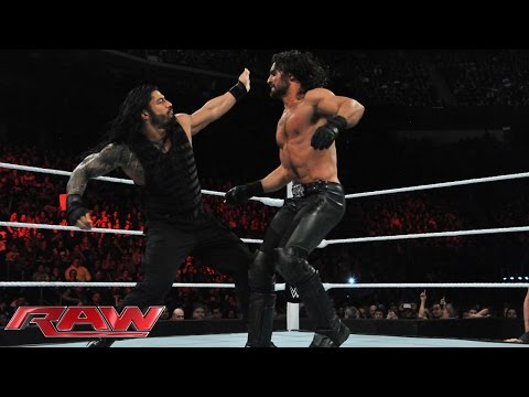 Roman Reigns Vs. Seth Rollins: Raw, March 2, 2015