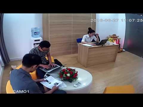 Video quan sát thực tế chất lượng của Camera không dây Samtech STN-2113