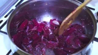 Ethiopian Food - Beetroot&Potato Vegan  Amharic&English Injera Wot Berbere Kitfo Tibs