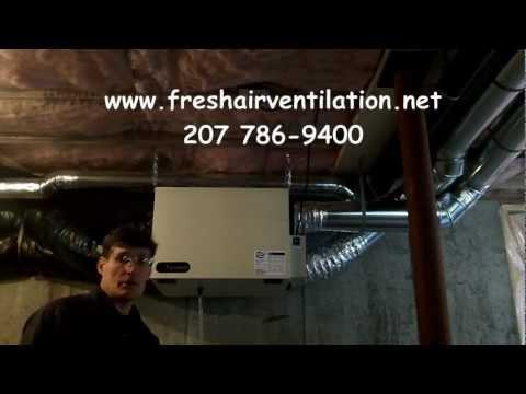 How to Clean a Fantech 1504 HRV air exchanger