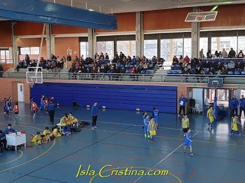 Resumen 3ª Fiesta Premini y Babybasket, celebrada en Isla Cristina