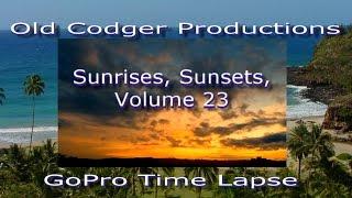 Sunrises, Sunsets, Volume 23
