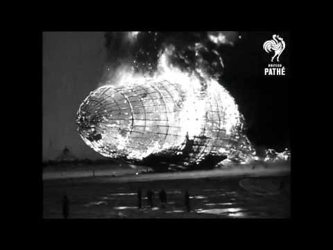 Hindenburg Disaster - Real Footage (1937)