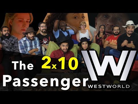 Westworld - 2x10  The Passenger SEASON 2 FINALE - GROUP REACTION!