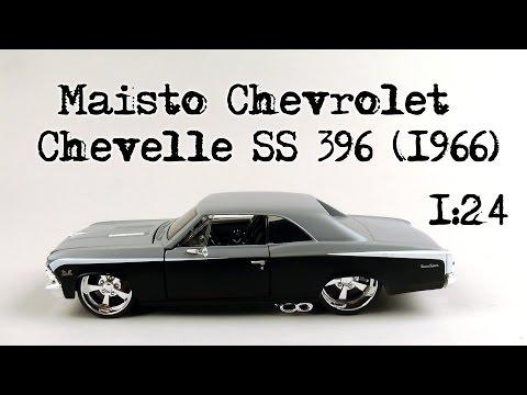 Chevrolet chevelle 1966 maisto фотография