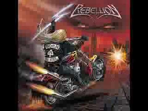 REBELLION born a rebel online metal music video by REBELLION