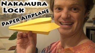 Nakamura Lock Paper Airplane
