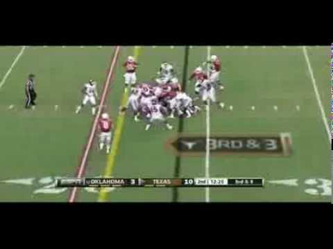 Johnathan Gray vs Oklahoma 2013 video.