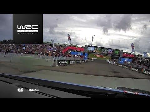 WRC - Kennards Hire Rally Australia 2017: ONBOARD Neuville SS08