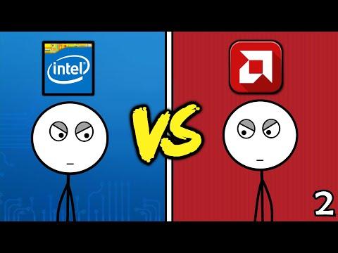 Intel Gamers VS AMD Gamers (Here We Go Again)