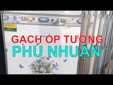 Gạch ốp tường 30x60 cao cấp giá rẻ quận Phú Nhuận|Gạch dán tường 30x60 mới nhất.