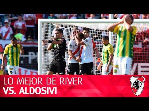 Lo mejor de River vs. Aldosivi