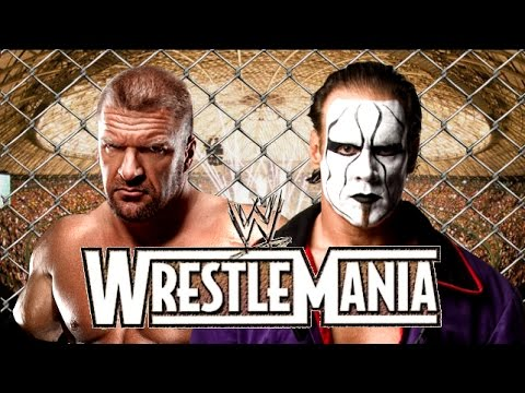 wwe wrestlemania xxxi - triple h vs sting promo