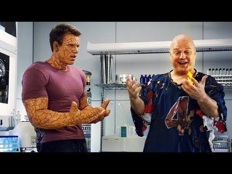 Power Switch ¦ Fantastic Four  Rise Of The Silver Surfer 2007 CLIP 6 HD