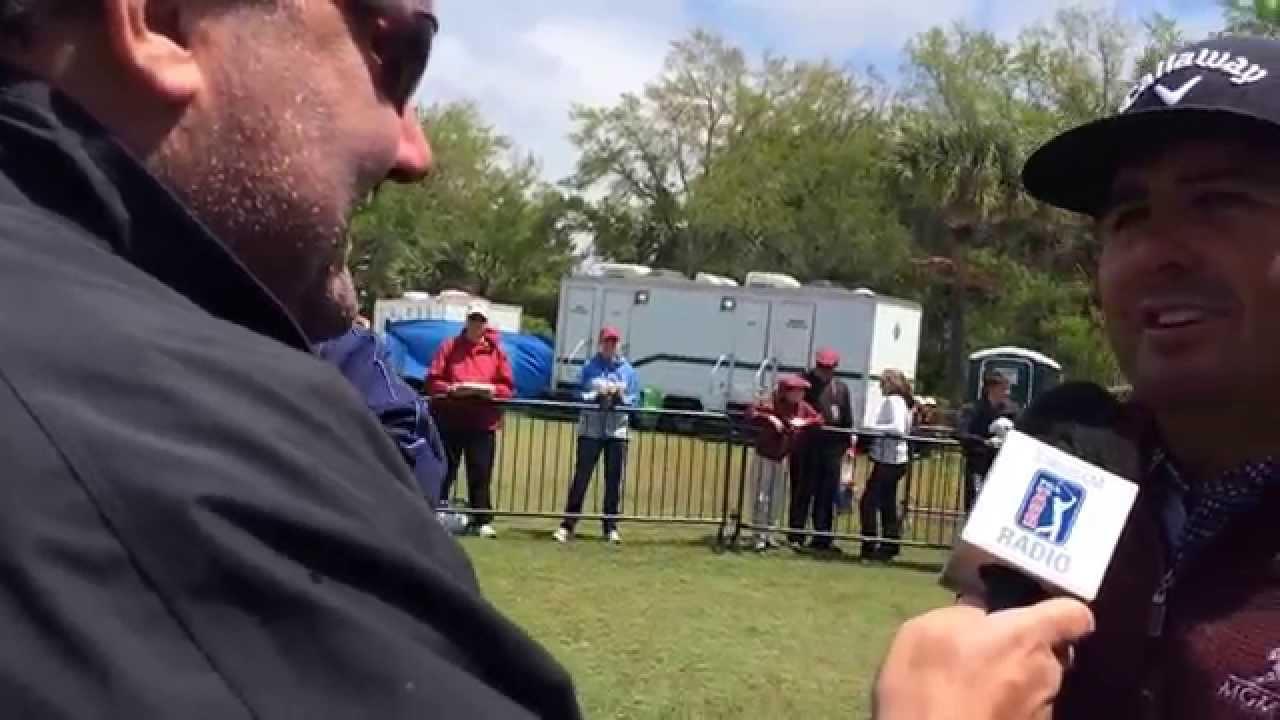 Pat Perez Talks With PGA Tour Radio At RBC Heritage