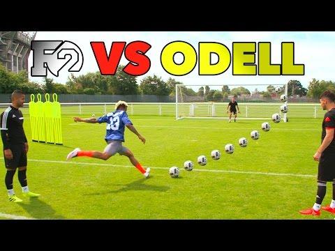 ODELL'S OUTRAGEOUS SOCCER SKILLS | F2 vs Beckham Jr