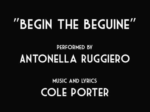 Tekst piosenki Antonella Ruggiero - Begin The Beguine po polsku