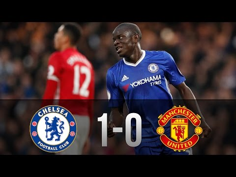Chelsea vs Manchester United 1-0 - Goals & Highlights 13/03/2017