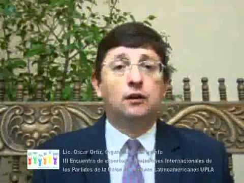 3º Encuentro de Expertos en Relaciones Internacionales de los Partidos de la Unión de Partidos Latinoamericanos