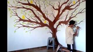 Pintura decorativa. Pónle mágia a tus paredes