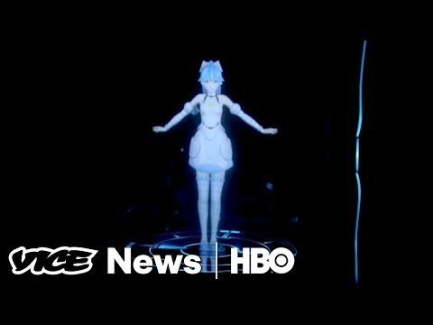 Video This Holographic Anime Character Could Be Your Next Girlfriend (HBO) download in MP3, 3GP, MP4, WEBM, AVI, FLV January 2017